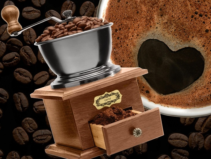 large capacity manual coffee grinder