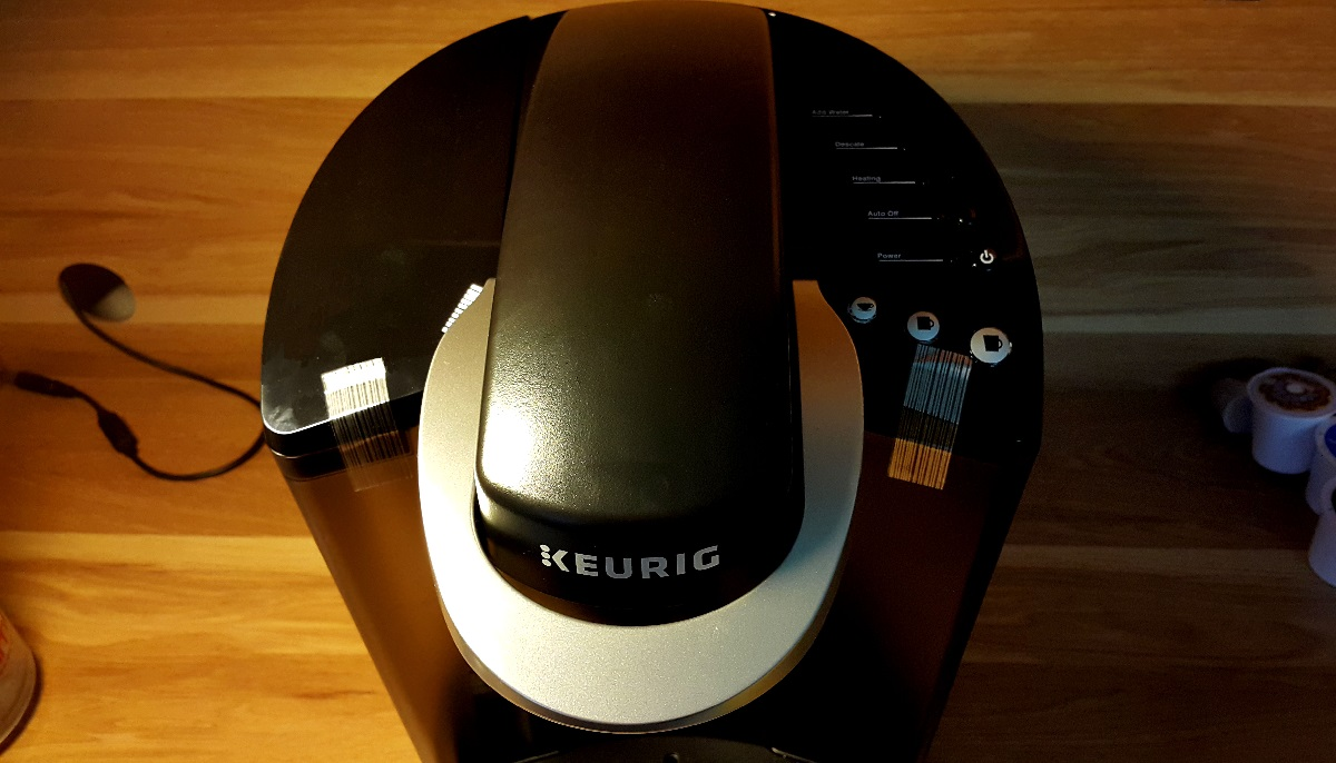The-Keurig-K55-viewed-from-above