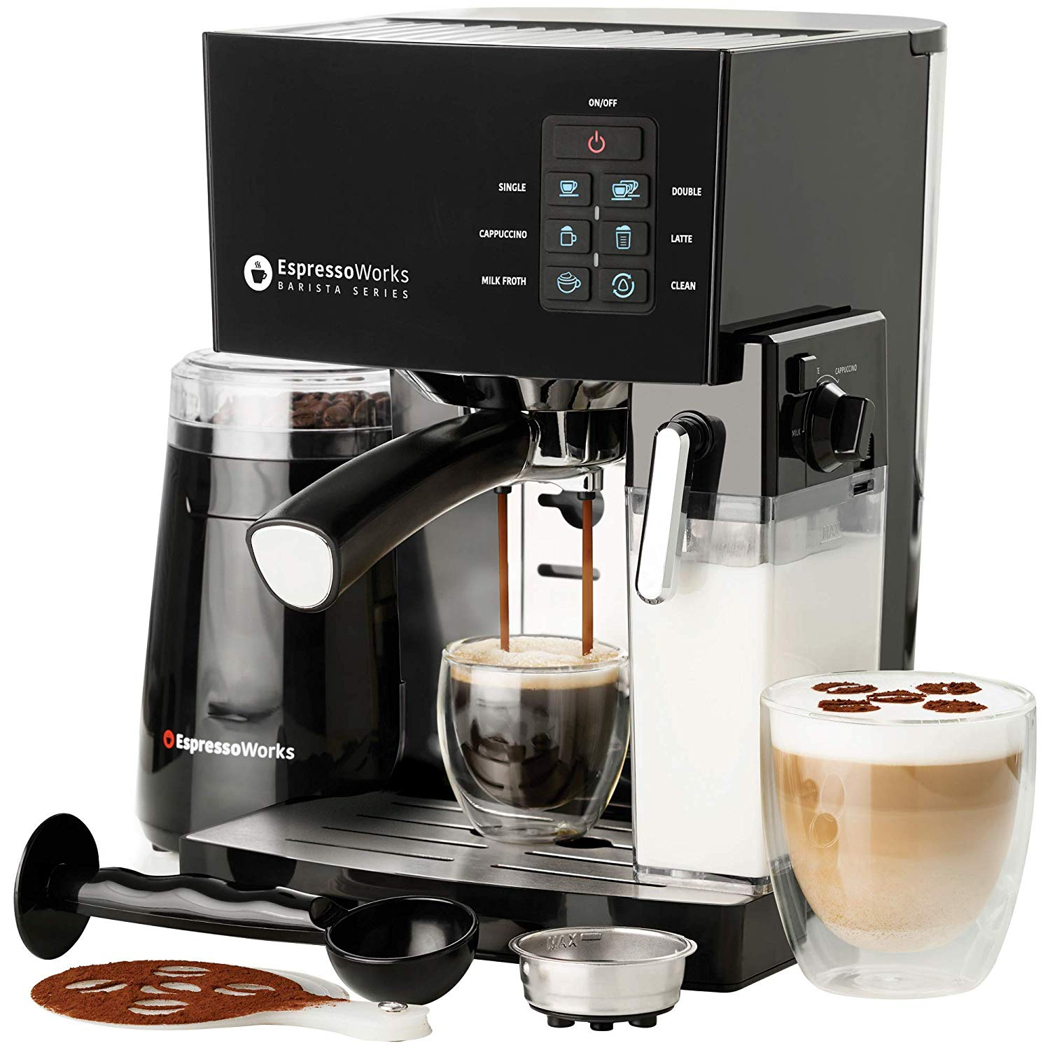 Barista Bundle Espresso Machine & Cappuccino Maker by EspressoWorks