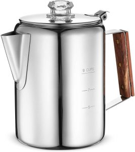 Eurolux Percolator Coffee Maker Pot