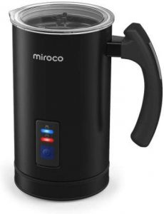 Miroco Milk Frother and Steamer Review 1