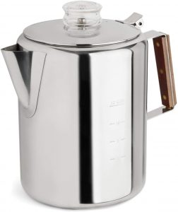 TOPS 55705 Rapid Brew Stainless Steel Stovetop Coffee Percolator