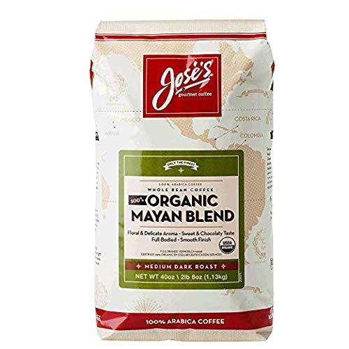 Joses Whole Bean Coffee Organic Mayan Blend Arabica Coffee Review