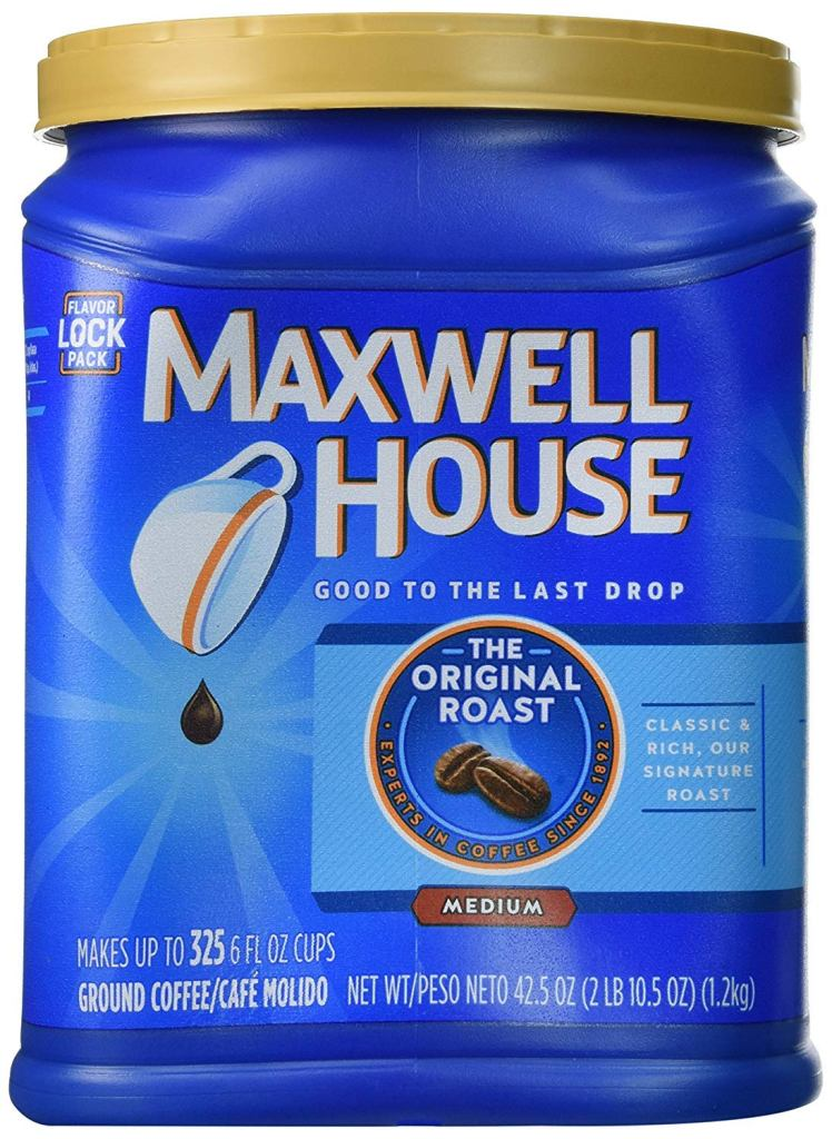 Maxwell House The Original Roast Ground Coffee Review