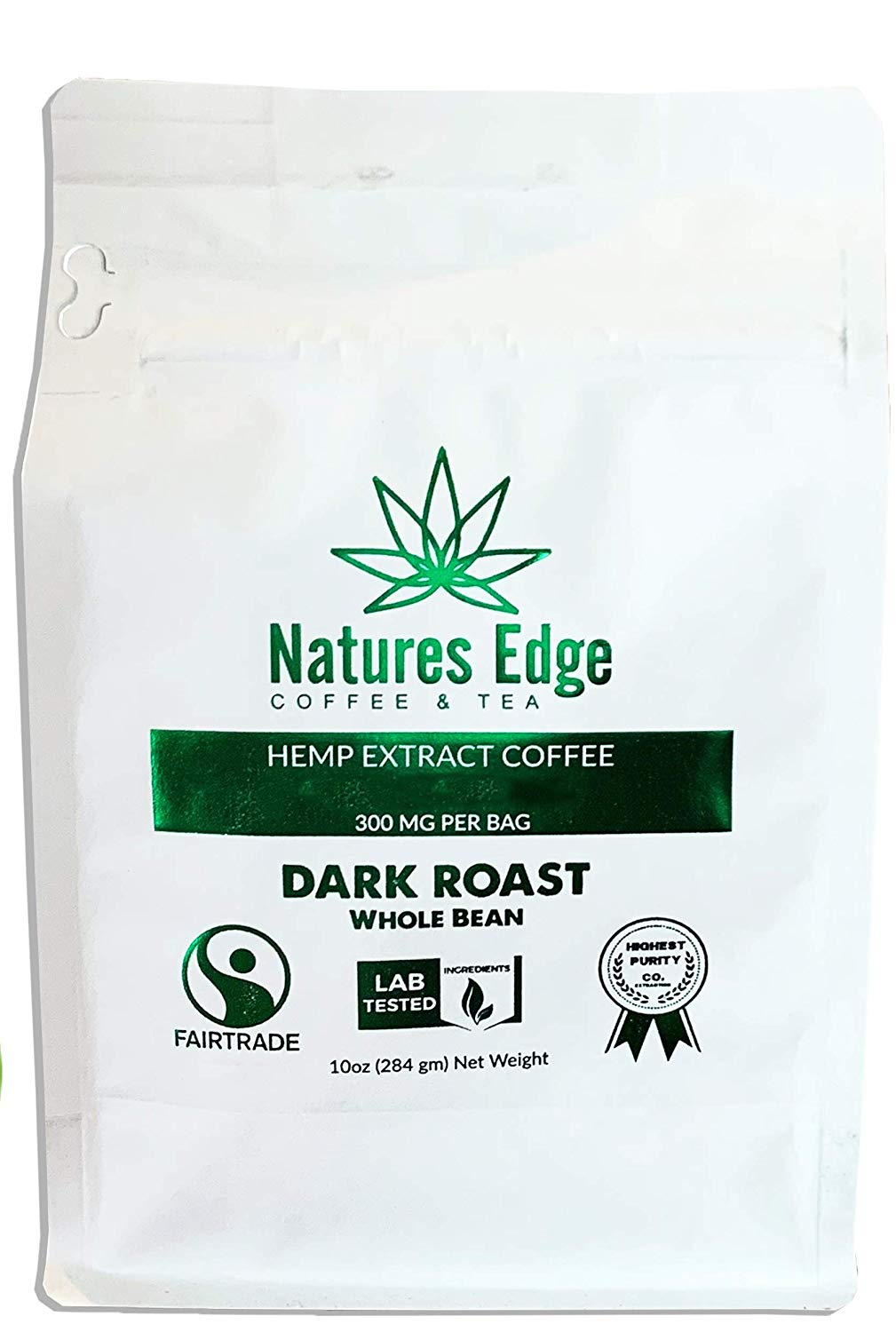 Natures Edge Fair Trade Shade Grown Coffee with MCT Oil Review
