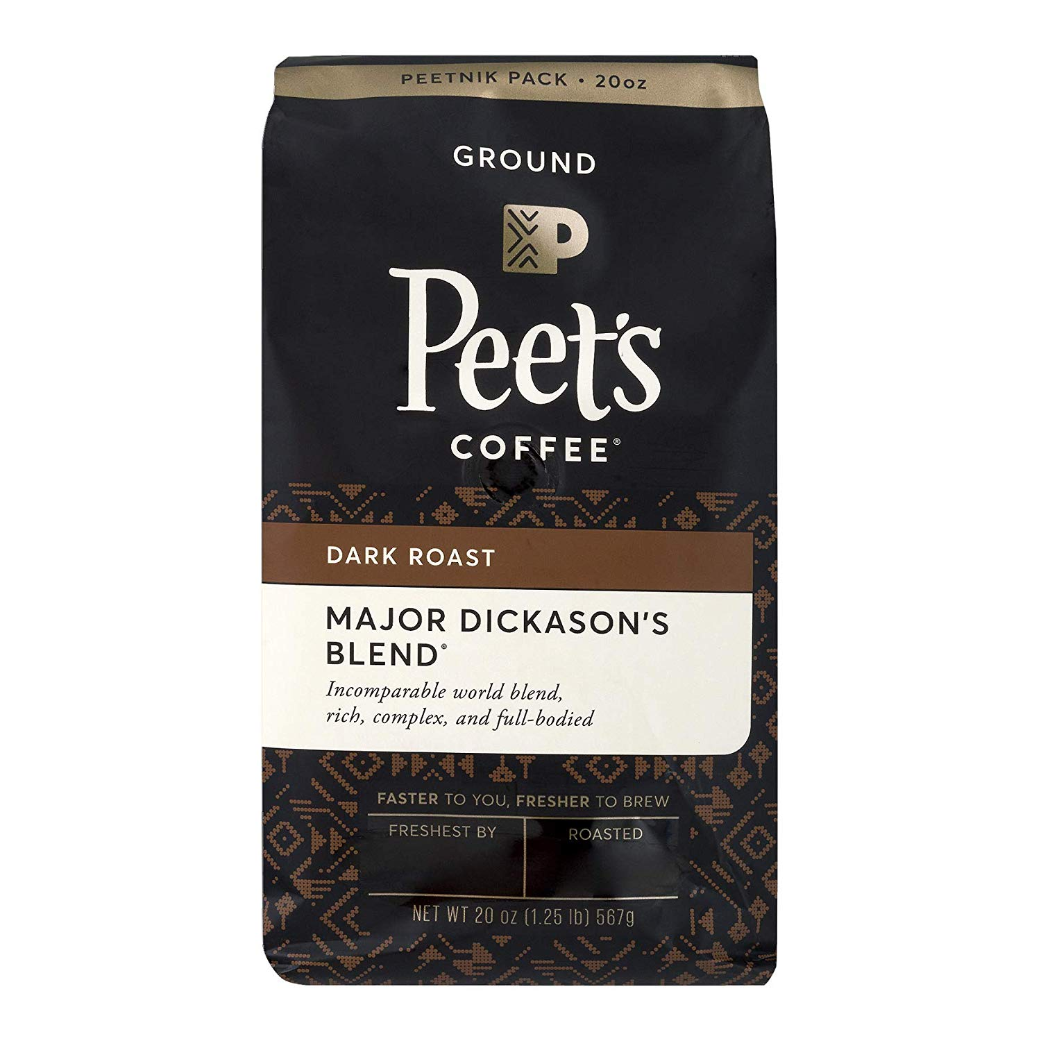 Peets Coffee Major Dickasons Ground Coffee Review