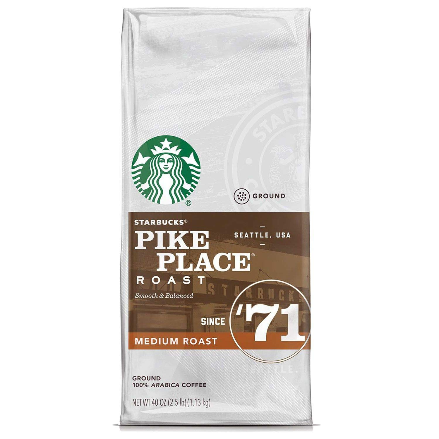 Pike Place Starbucks Medium Roast Ground Coffee Review