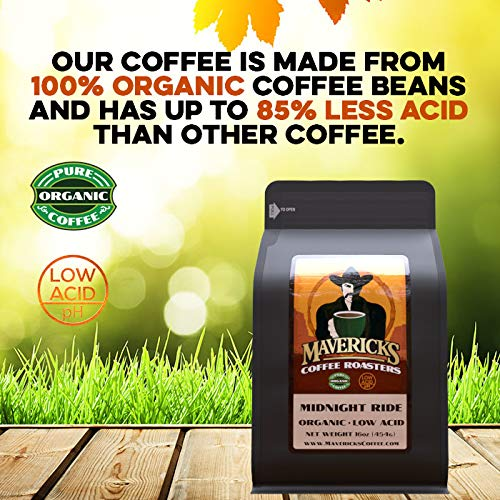 Midnight Ride Blend Organic Coffee Bold Roast