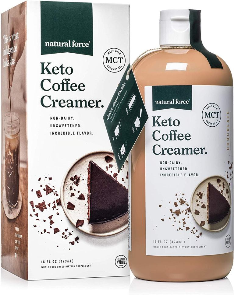 Natural Force Keto Coffee Creamer with MCT Oil review – Best Keto Coffee Creamer