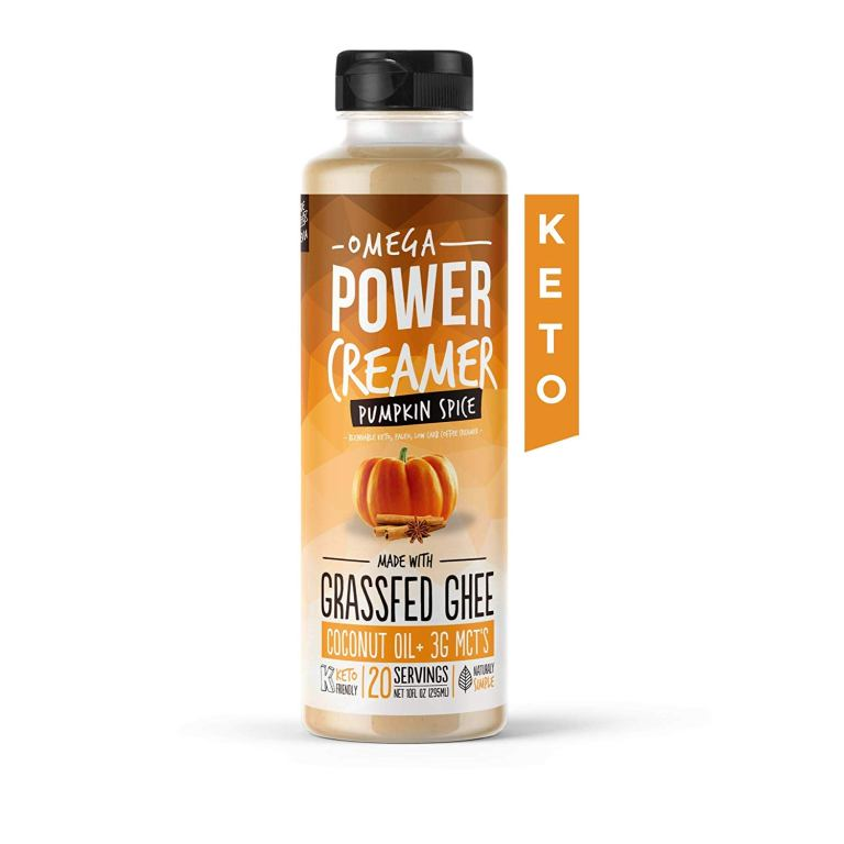 Omega PowerCreamer Keto Coffee Creamer – Best for Active Lifestyle