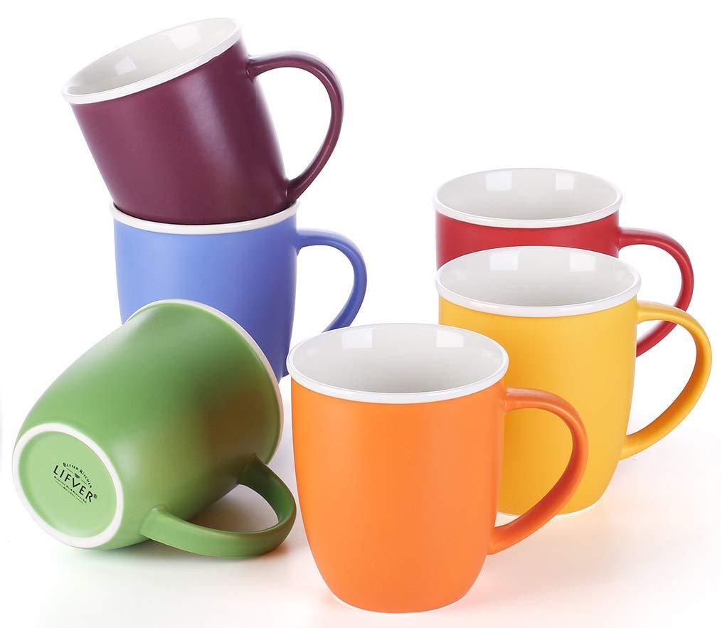 LIFVER 18 Ounces Coffee Mugs Review