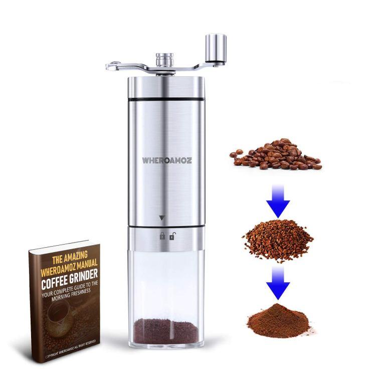 Wheroamoz Manual Coffee Grinder