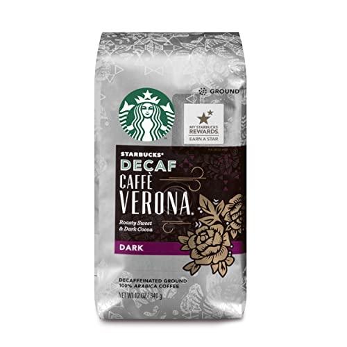 Starbucks Decaf Caffe' Verona